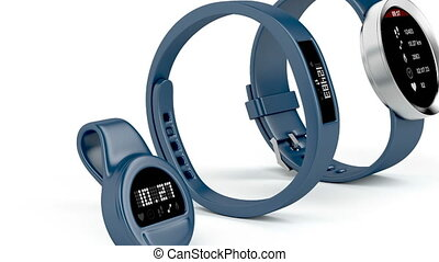 Different types of fitness trackers