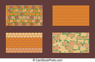 Different types of masonry