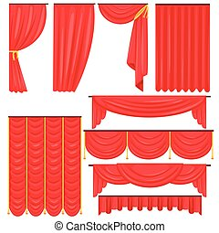 Different Types Of Theatrical Stage Curtain And Drapes In...