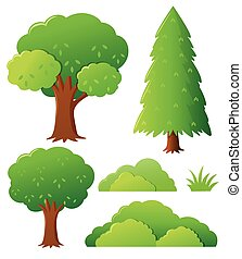 Different types of tree