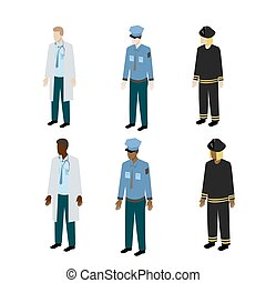 Different types of uniform