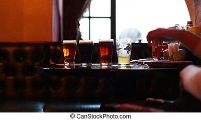Different varieties of beer