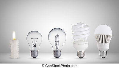 Different ways of illumination