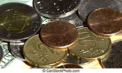Different world coins - Different world countries coins...