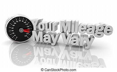 differente, distanza miglia, maggio, variare, illustrazione,...