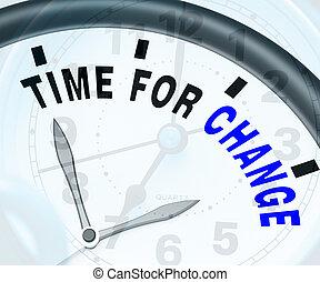 differente, mezzi, variare, strategia, tempo, o, cambiamento