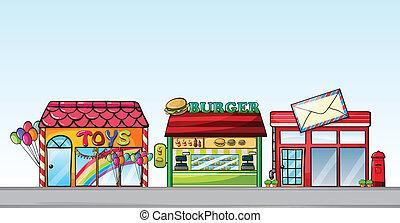 differente, negozi
