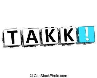 differente, parola, ringraziare, molti, -, languages., lei, takk