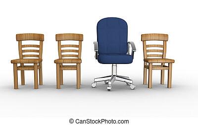 differente, sedia
