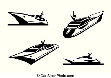 differente, yacht, prospettiva