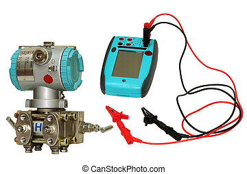 Differential sensor and calibrator. - Differential sensor...