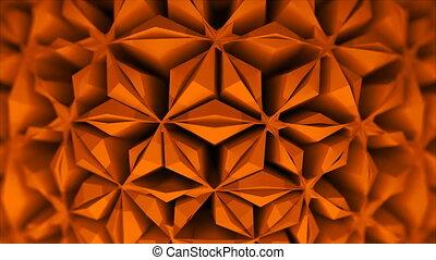 Difficult 3d shape with a symmetric surface ornament, 3d...
