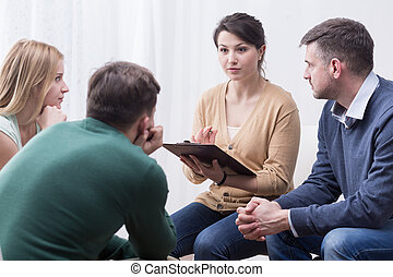 Difficult but satisfying role of a support group moderator -...