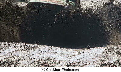 Difficult race - Jeep ride to race on impassable terrain.