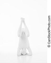 difficult yoga position