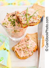 diffusion, saumon