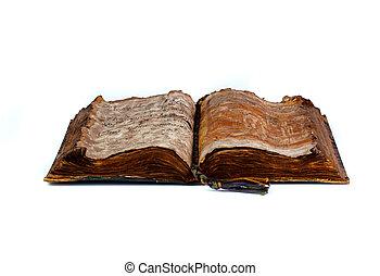 diffusion, vieux, livre