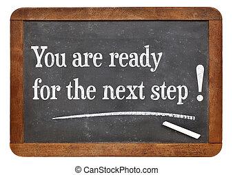 dig, ar, för, den, nästa, step!