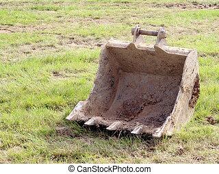 Digging machine shovel