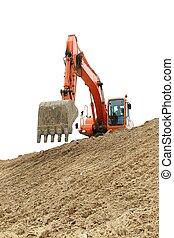 Digging Machine Working
