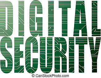 digitális, biztonság