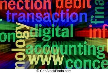 digitális, lebonyolítás
