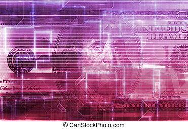 digitális, mozgatható, bankügylet
