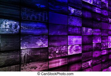 digitális, multimédia