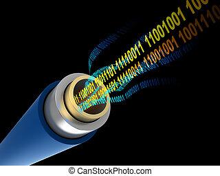 digitální, data