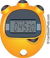 Digit Display Stopwatch