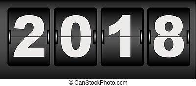 Digital 2018 new year
