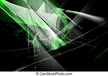 Digital 3d background