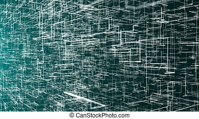 Digital abstract background with particles