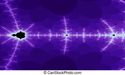 Digital Animation of a Fractal Zoom