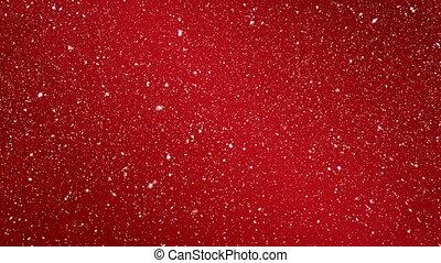 Digital animation of red background 4k