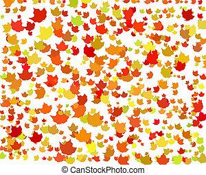 Digital Autumn Background