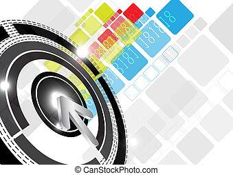 digital background design