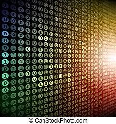 Digital background - Digital bector background