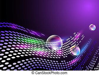 Digital background for various design artwork