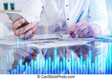 digital bankrörelse, begrepp