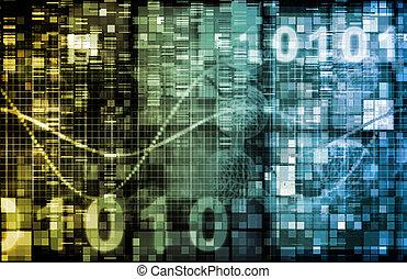 Digital Binary Code