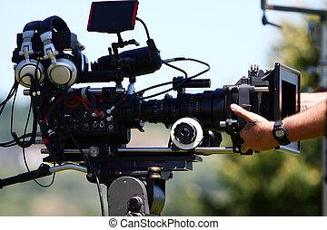 digital, bio, kamera