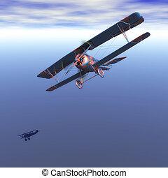 Digital Biplane Visualization
