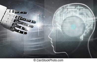 Digital brain connection