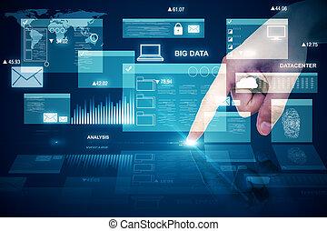 Digital business interface