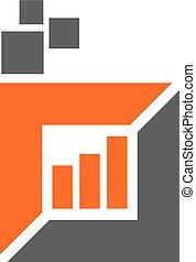 Digital Business Logo Design Template Vector