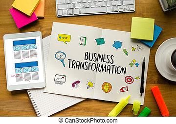 Digital BUSINESS TRANSFORMATION , Hi-tech technological...