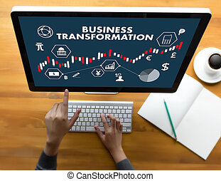 Digital BUSINESS TRANSFORMATION , Hi-tech technological...
