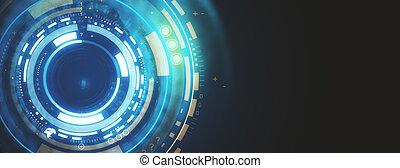 Digital button wallpaper