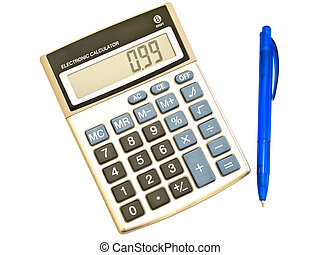 digital calculator and ba